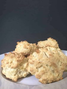 gluten and dairy free drop biscuits