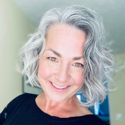 My Transition to Gray Hair: How I Went Gray at 40