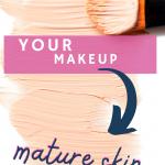 winter makeup tips for mature skin
