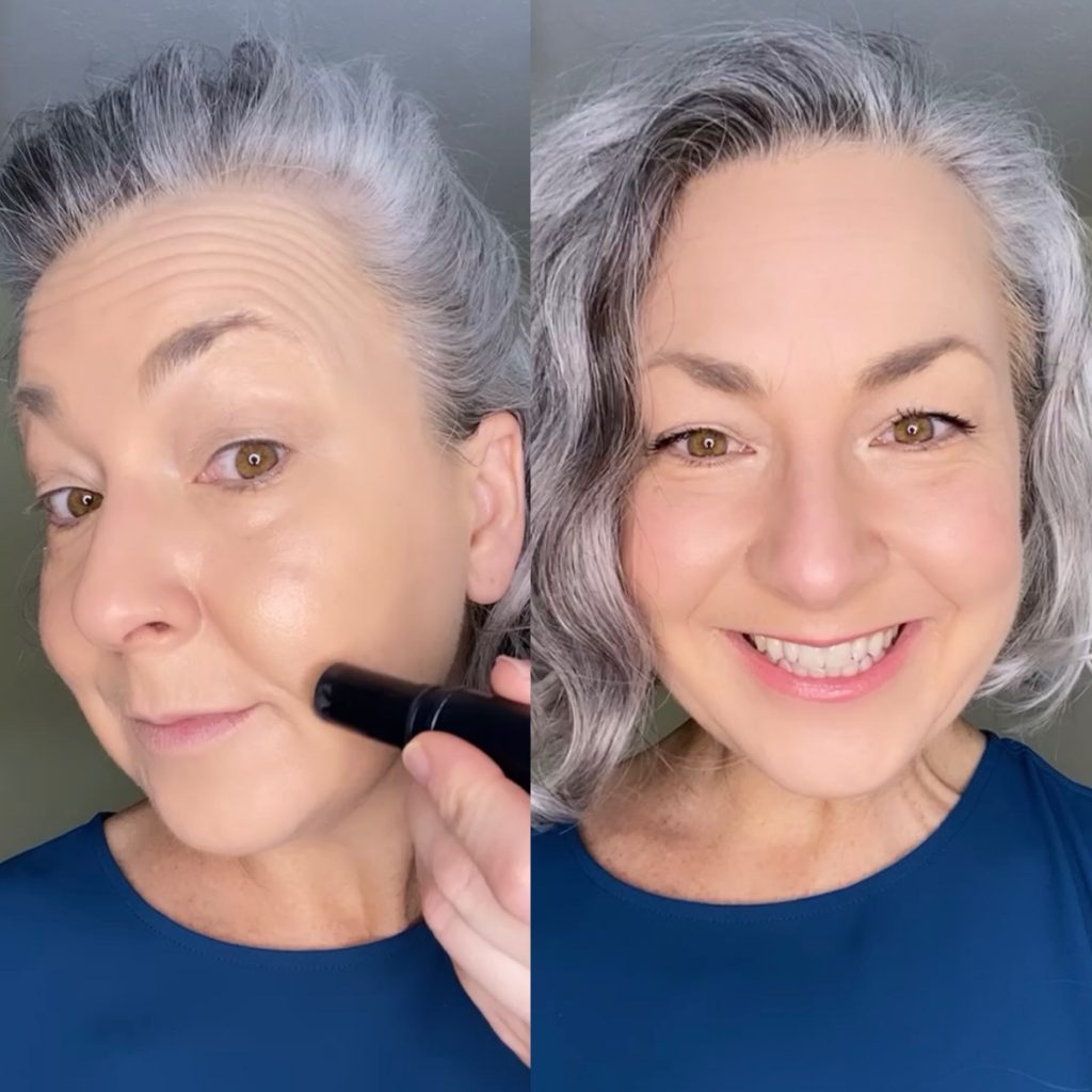 Instant Facelift With Makeup Technique