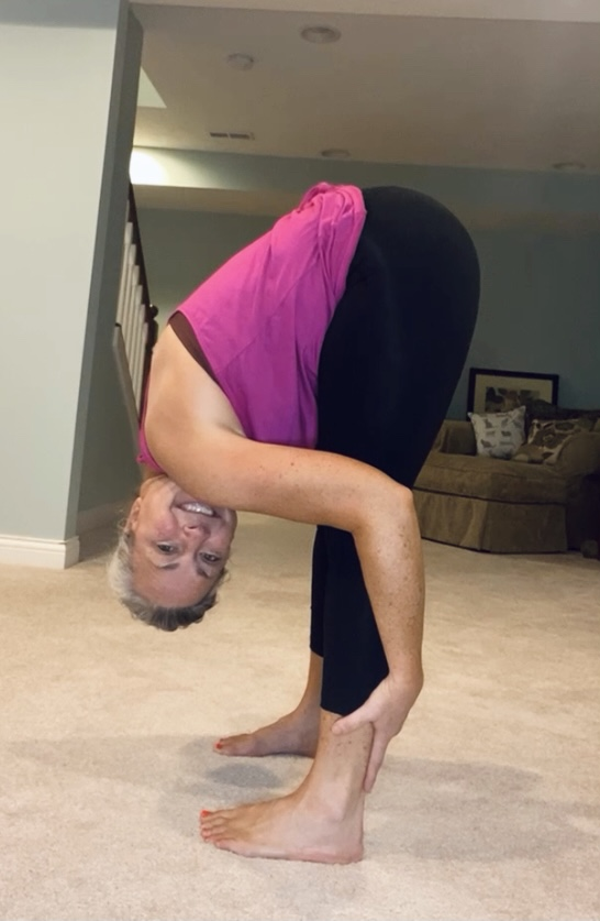 my rheumatoid arthritis story- woman stretching